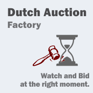 Dutch Auction Factory